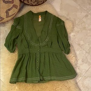 Maeve Anthropologie blouse